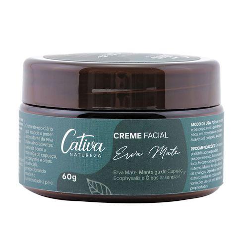 Creme-Hidratante-Facial-Natural-Erva-Mate-60g-Cativa-Natureza